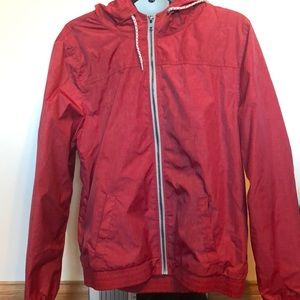 Jackets & Blazers - red Lined windbreaker